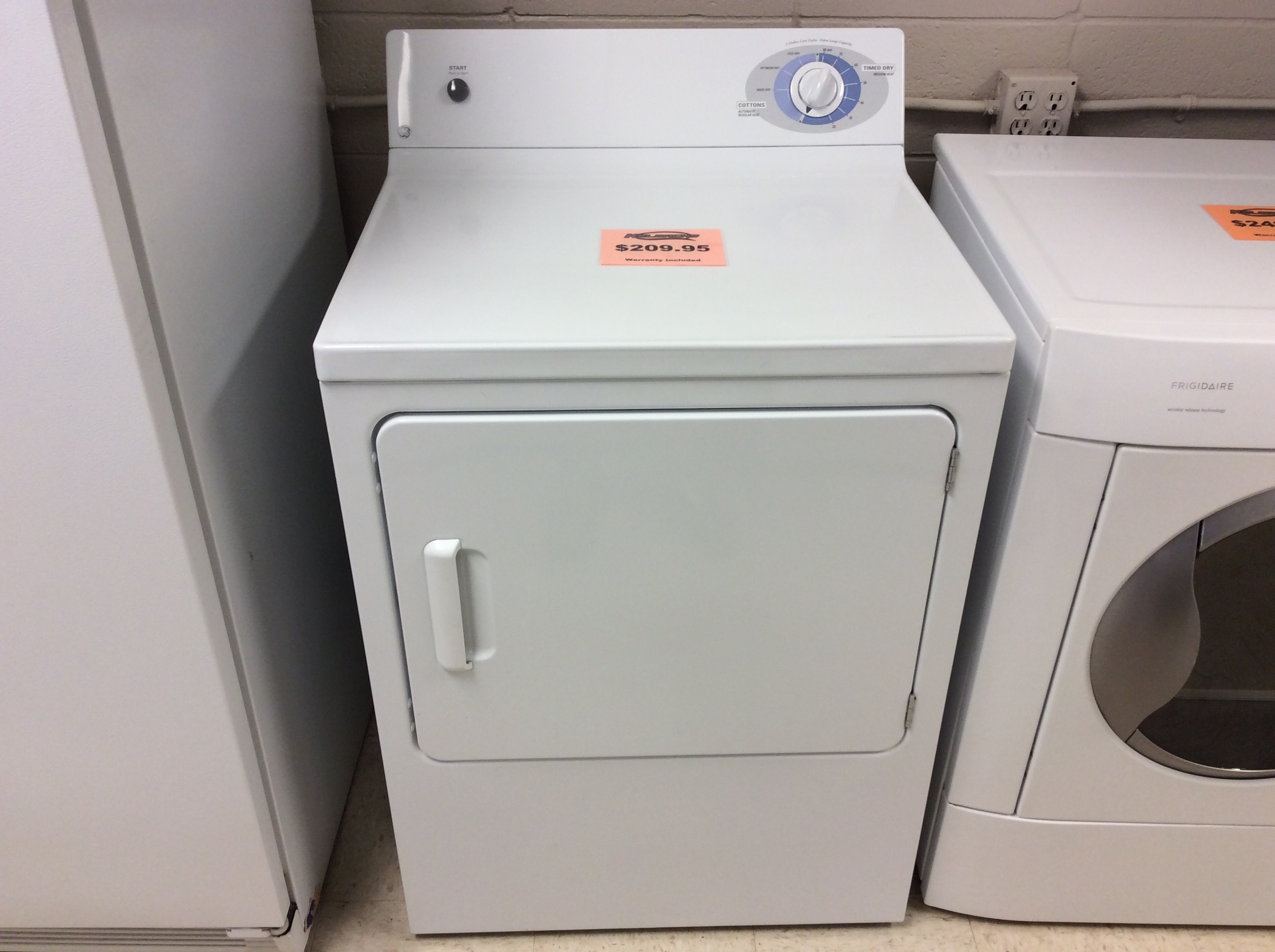 G E Electric Dryer Kelbachs