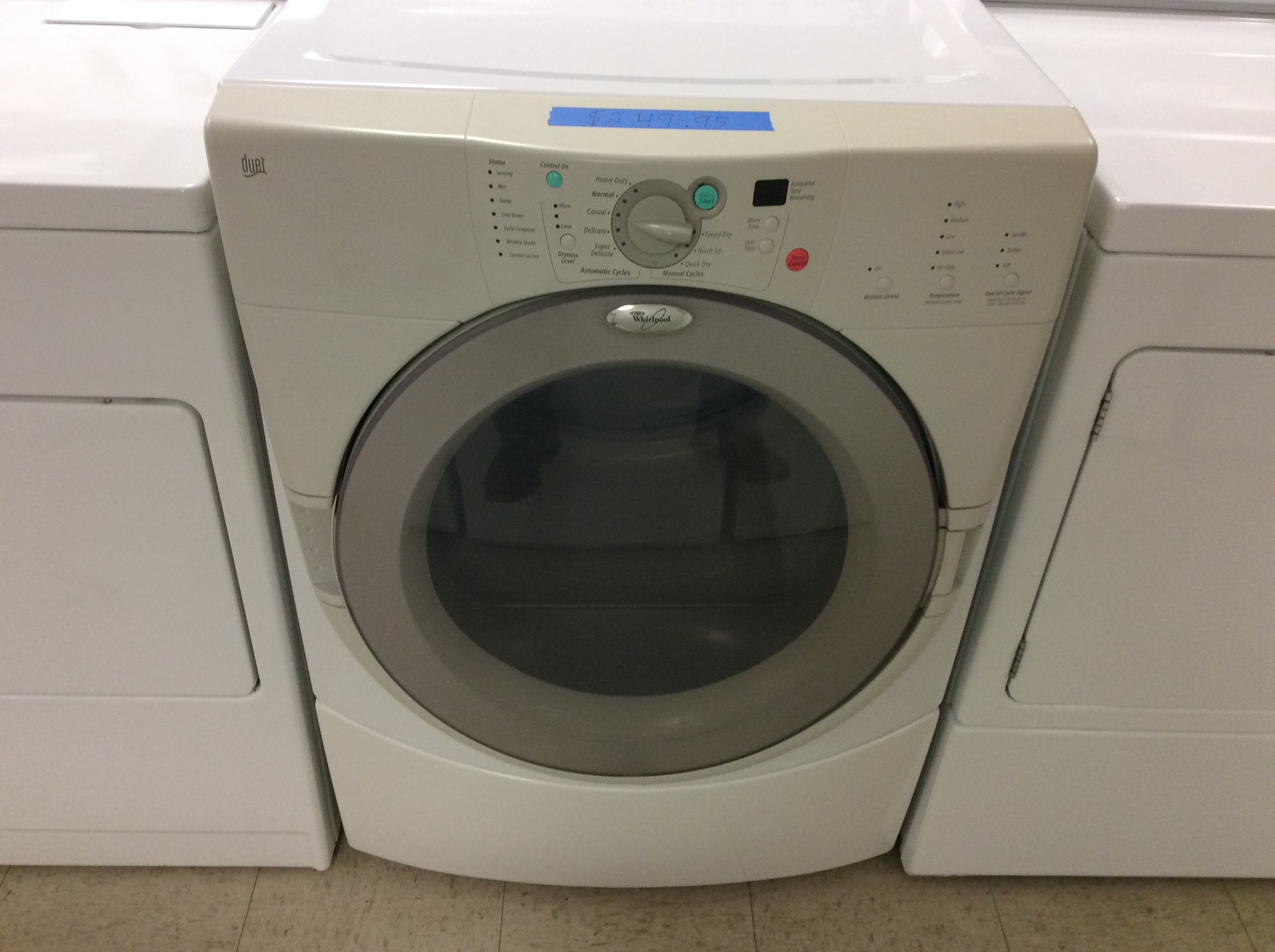 Whirlpool Duet Electric Dryer Kelbachs