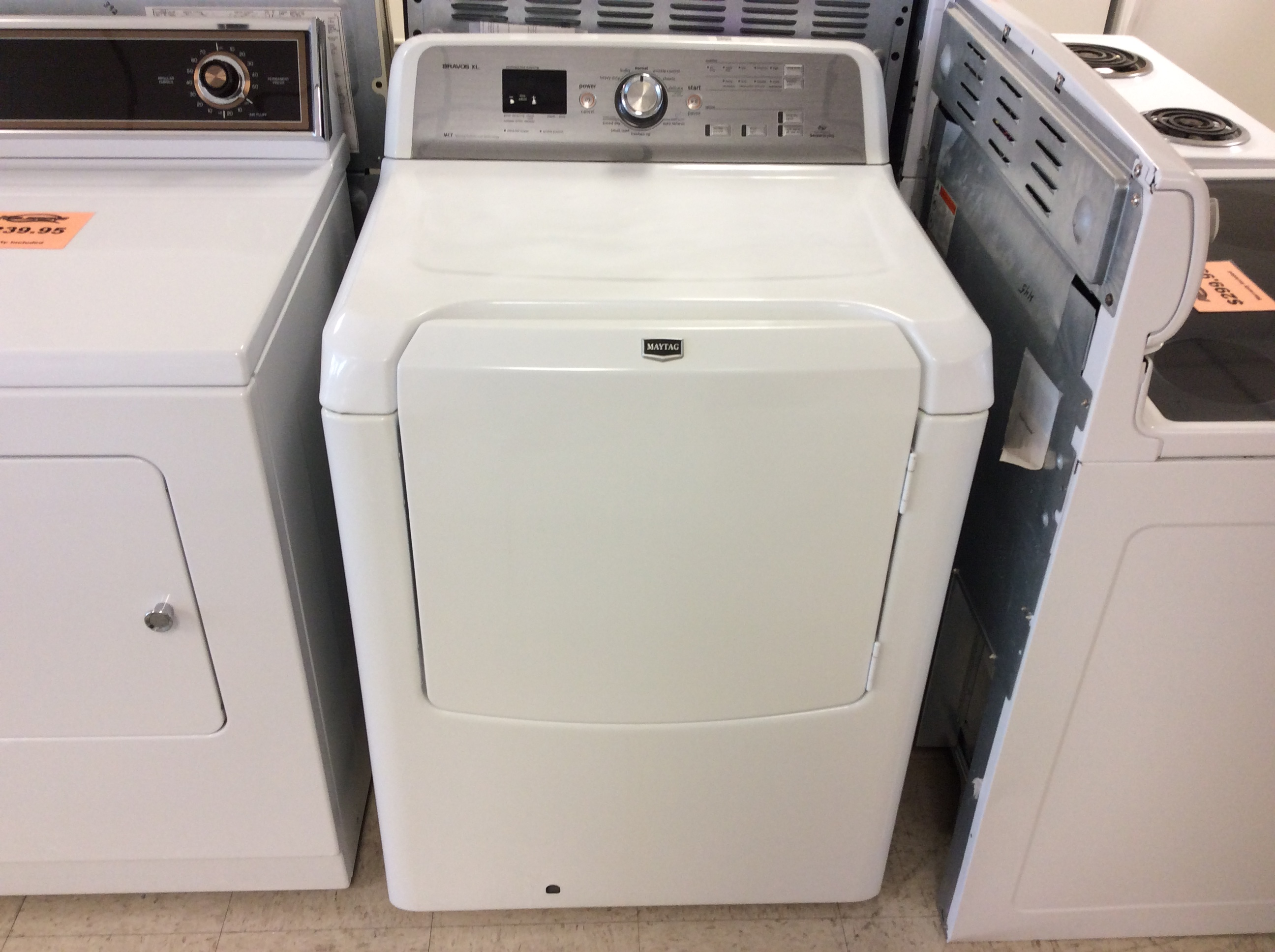 Maytag Bravos Xl Gas Dryer Kelbachs