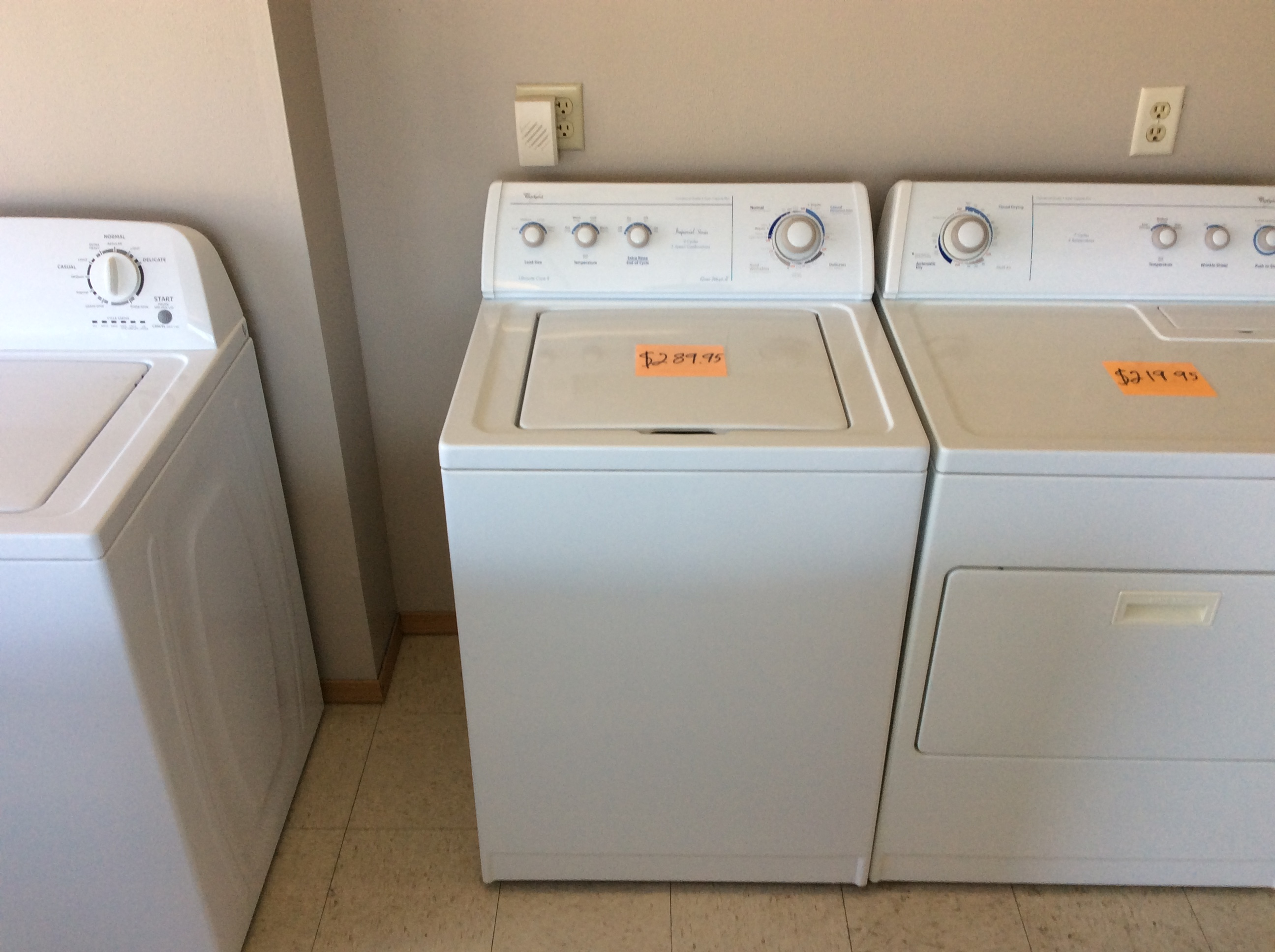 Whirlpool Top Load Washer Kelbachs